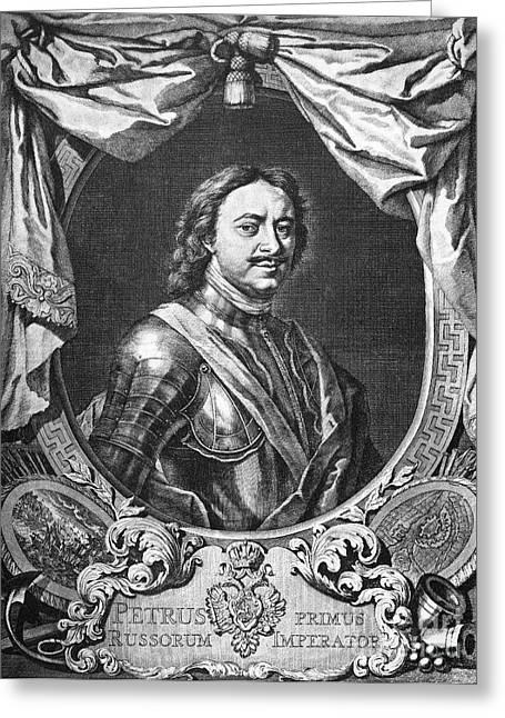 Peter I (1672-1725) Greeting Card