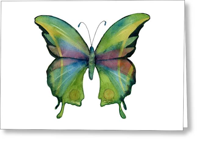 11 Prism Butterfly Greeting Card