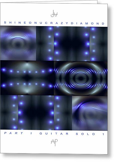 11 Shine On You Crazy Diamond Part1 - Guitar Solo 1 Greeting Card