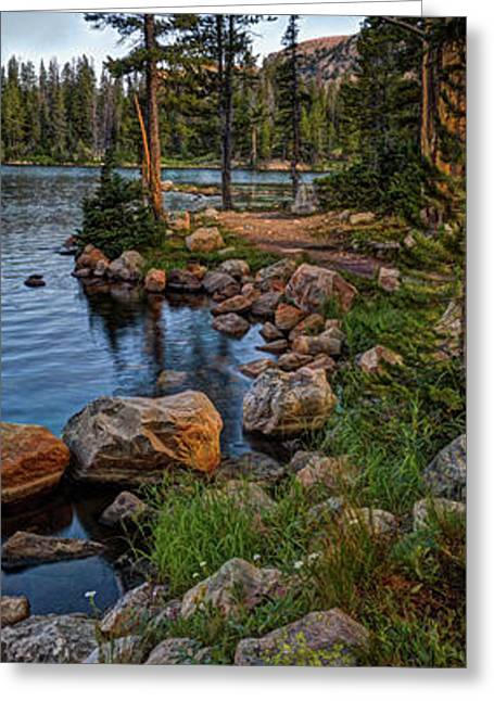 Uinta Mountains, Utah Greeting Card