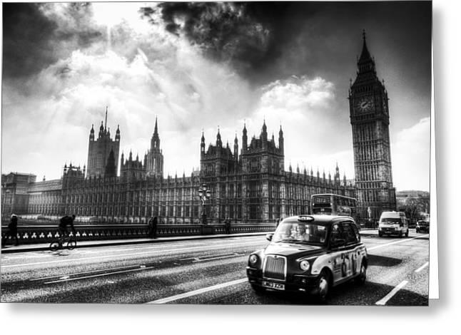 Westminster Bridge London Greeting Card