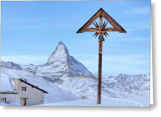 Zermatt - Switzerland Greeting Card by Joana Kruse