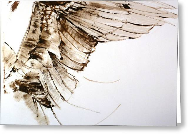 11.11 Wing Greeting Card by Bill Mather