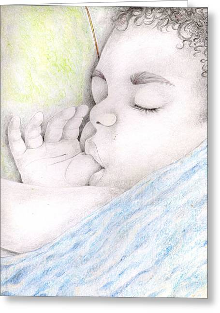 113 Greeting Card by Candace Williams