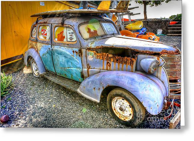 1154 Blast From The Past Greeting Card by Steve Sturgill