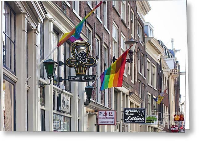 Amsterdam Greeting Card by Andre Goncalves