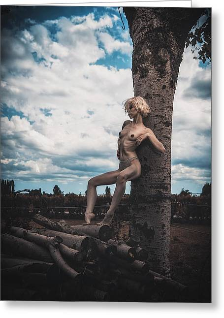 Greeting Card featuring the photograph Kelevra by Traven Milovich