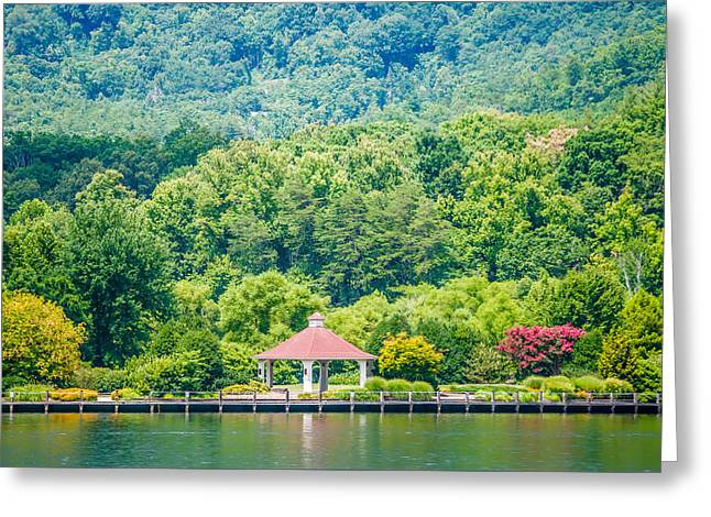 Scenery Around Lake Lure North Carolina Greeting Card