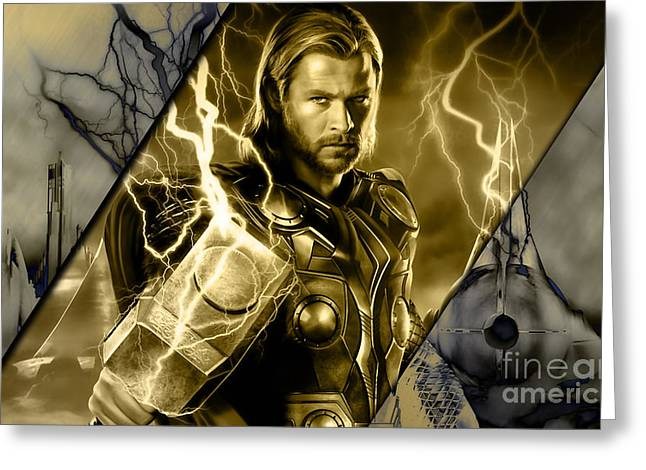 Thor Collection Greeting Card