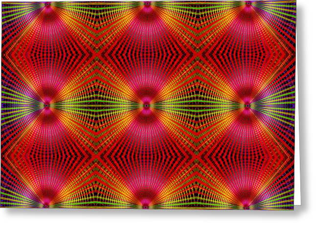 Greeting Card featuring the digital art #122720154 by Visual Artist Frank Bonilla