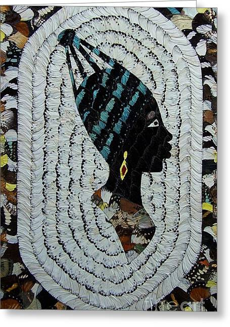 Butterfly Wings Greeting Card by Ayhan Yilmaz