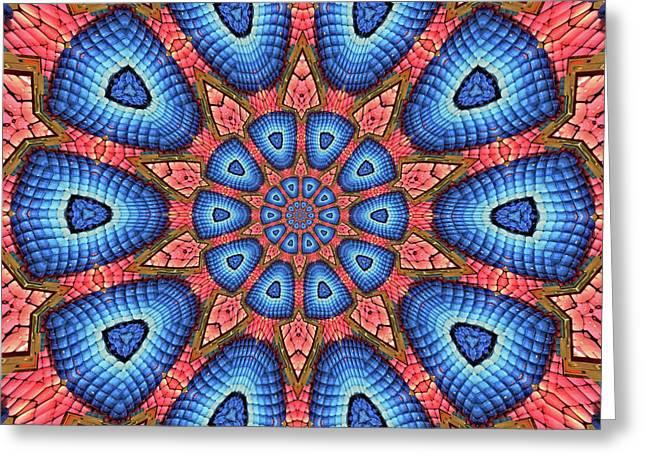 Unique Design Pattern Greeting Card