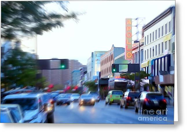 125th Street Harlem Nyc Greeting Card