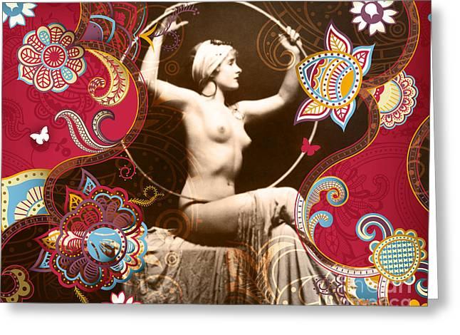 Goddess Greeting Card