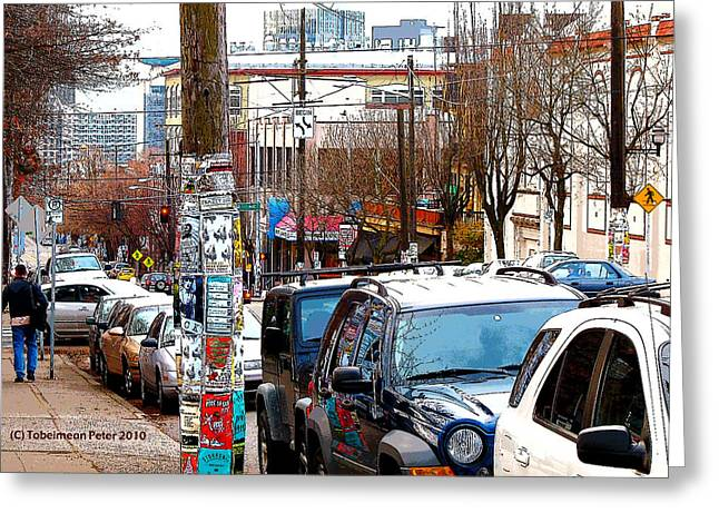 12th And Pike St. Capitol Hill Greeting Card