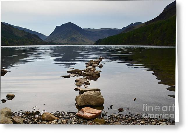 Buttermere Greeting Card by Nichola Denny