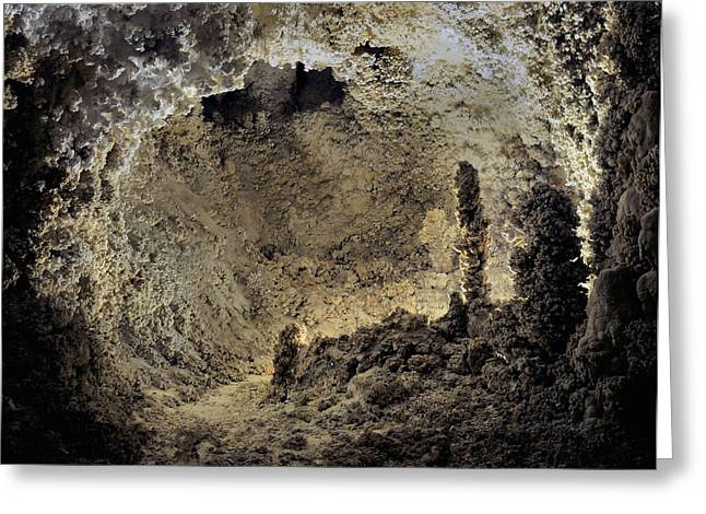 Cavern Greeting Cards - Carlsbad Caverns Greeting Card by Stephen  Vecchiotti