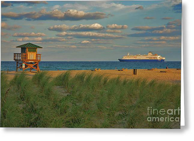 Greeting Card featuring the photograph 13- Cruising In Paradise by Joseph Keane