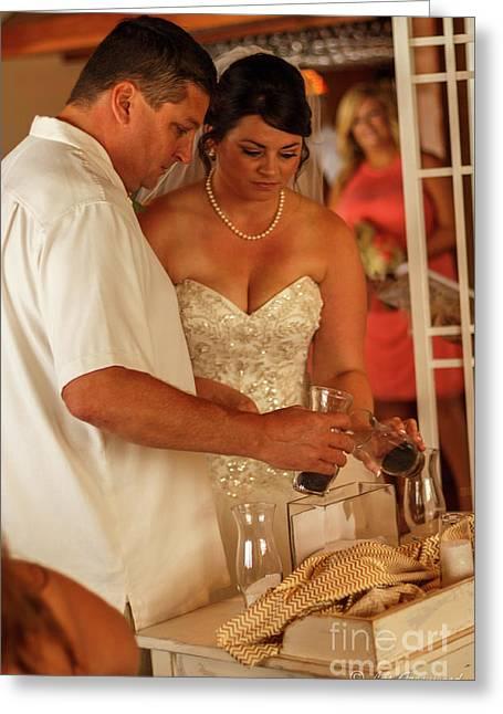 Faulkner Wedding Greeting Card