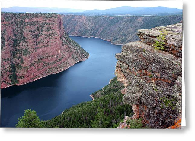 Flaming Gorge National Park Greeting Card by Ellen Tully