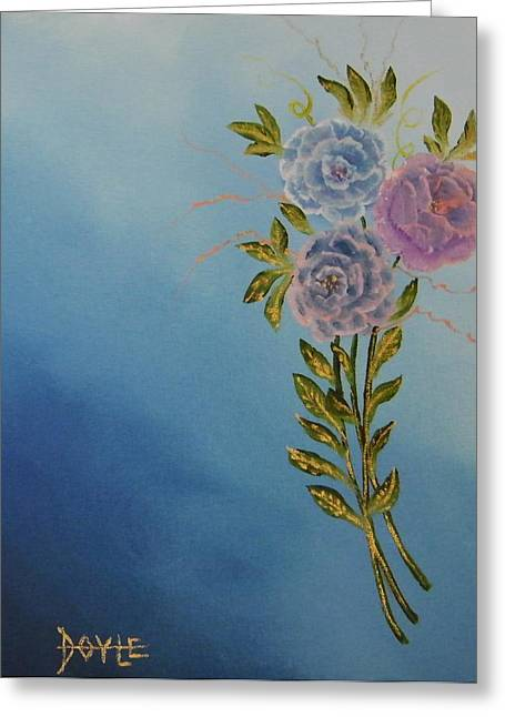 Flowers By Doyle Greeting Card by Larry Doyle