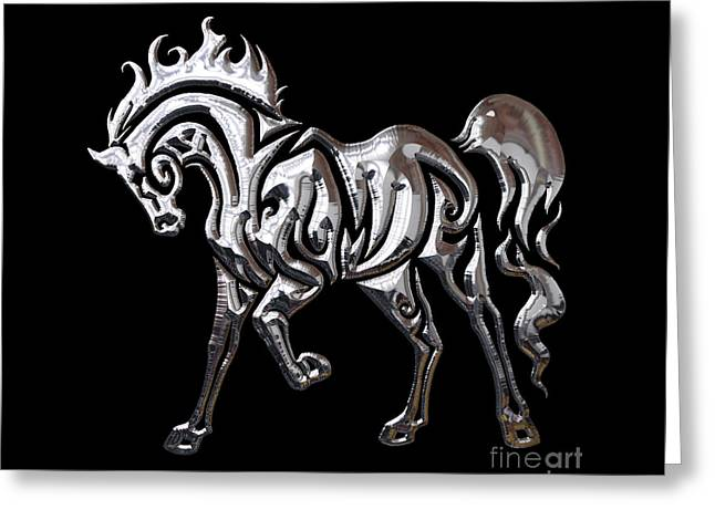 Horse Collection Greeting Card by Marvin Blaine