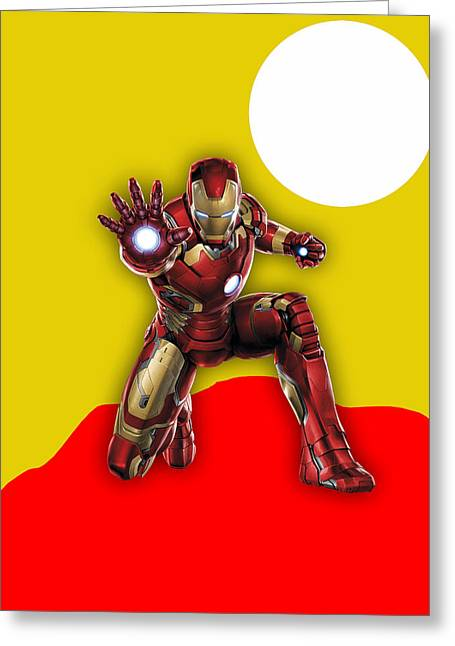 Iron Man Collection Greeting Card