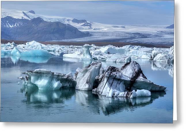 Jokulsarlon - Iceland Greeting Card