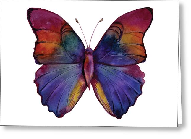 13 Narcissus Butterfly Greeting Card