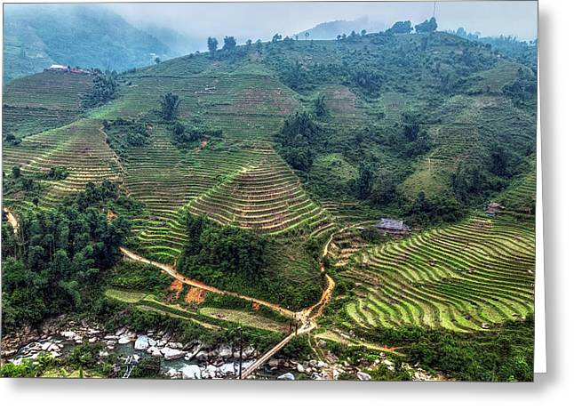 Sapa - Vietnam Greeting Card