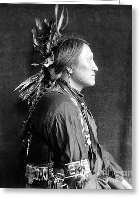 Sioux Native American, C1900 Greeting Card by Granger