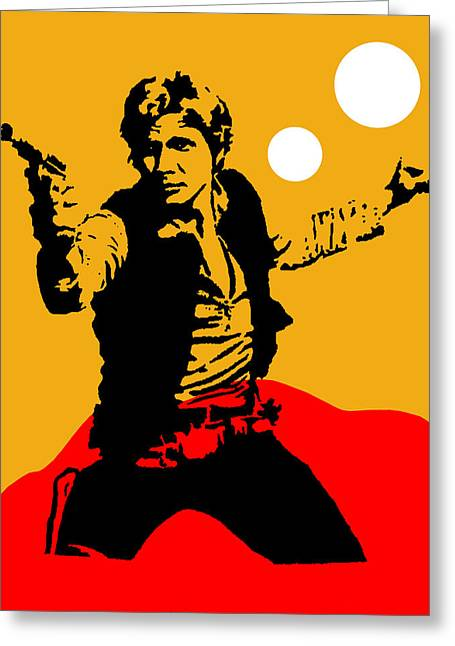 Star Wars Han Solo Collection Greeting Card