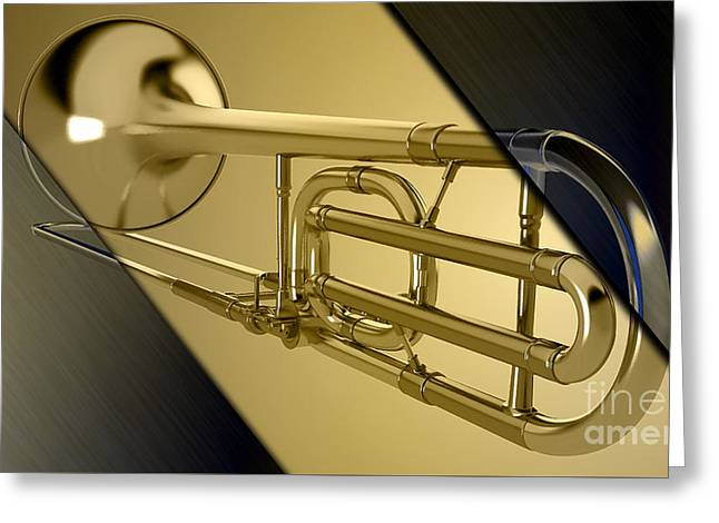 Trombone Collection Greeting Card