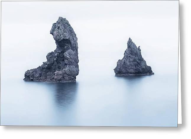 Vestmannaeyjar - Iceland Greeting Card by Joana Kruse