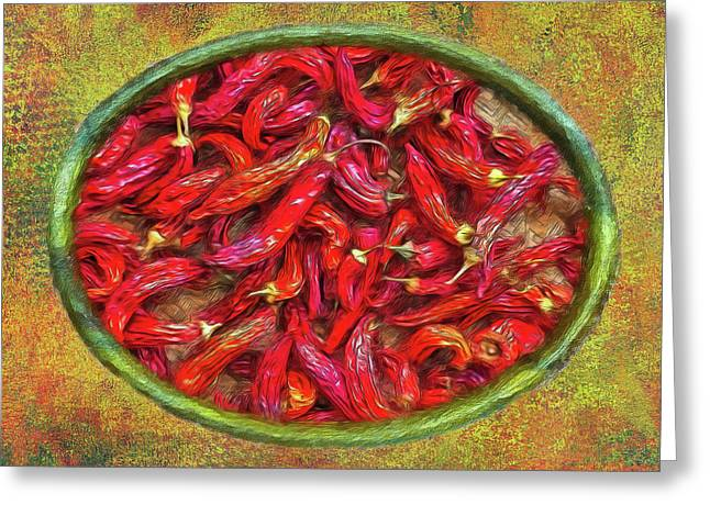 Red Hot Ready Greeting Card