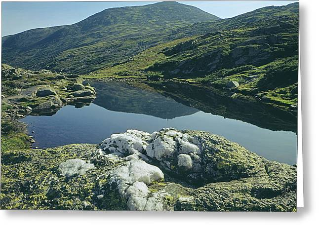 Greeting Card featuring the photograph 135708 Lake Of The Clouds Nh by Ed Cooper Photography