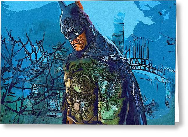 Batman For Art Greeting Card