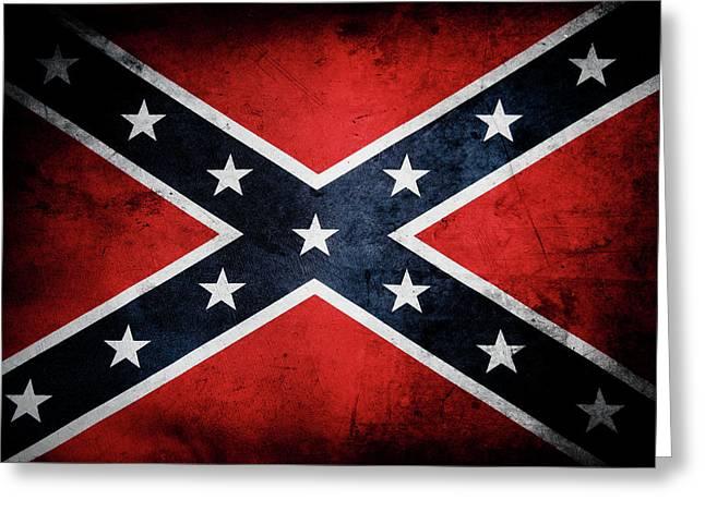 Confederate Flag 13 Greeting Card