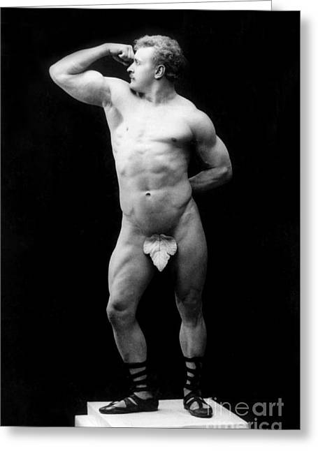 Eugen Sandow, Father Of Modern Greeting Card