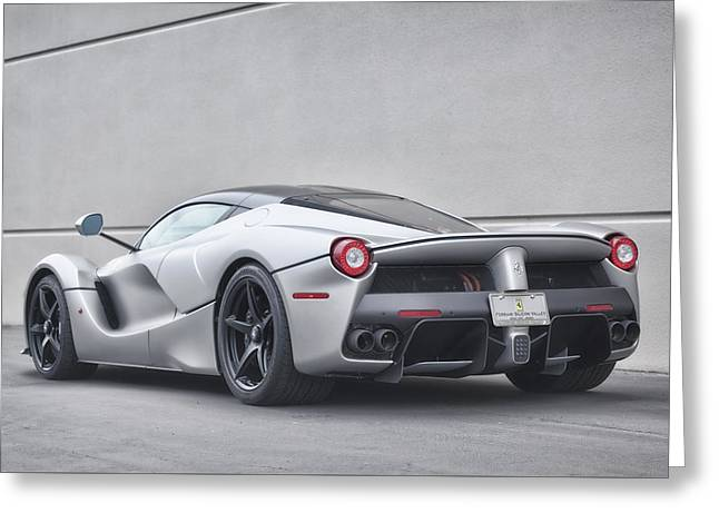#ferrari #laferrari Greeting Card