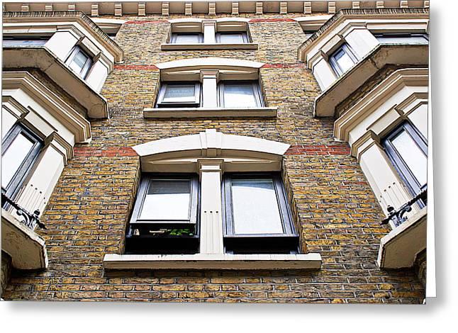 London Building Greeting Card by Tom Gowanlock