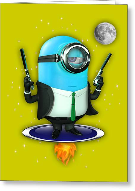 Minions Collection Greeting Card