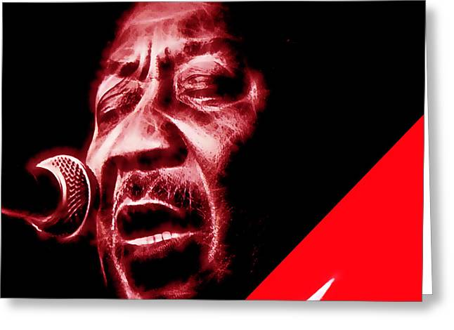 Muddy Waters Collection Greeting Card by Marvin Blaine