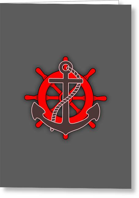 Nautical Collection Greeting Card