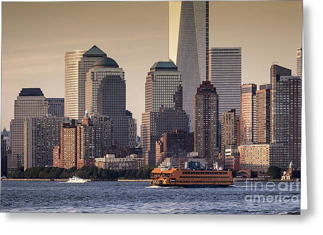 New York  Greeting Card by Juergen Held