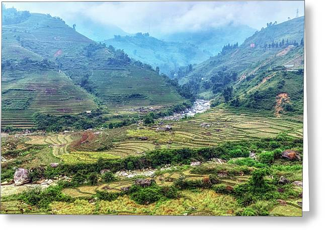 Sapa - Vietnam Greeting Card