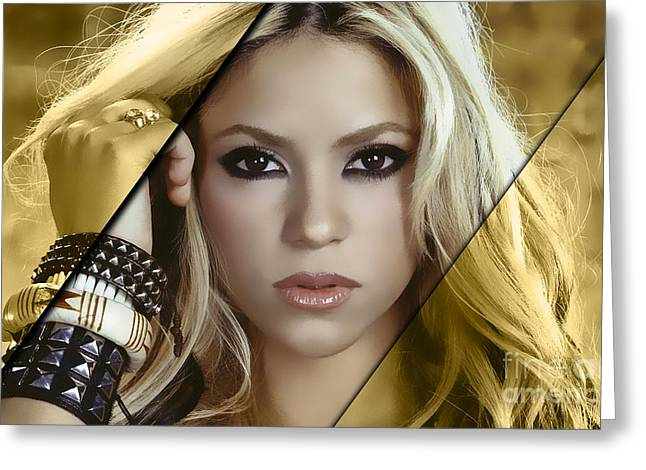Shakira Collection Greeting Card