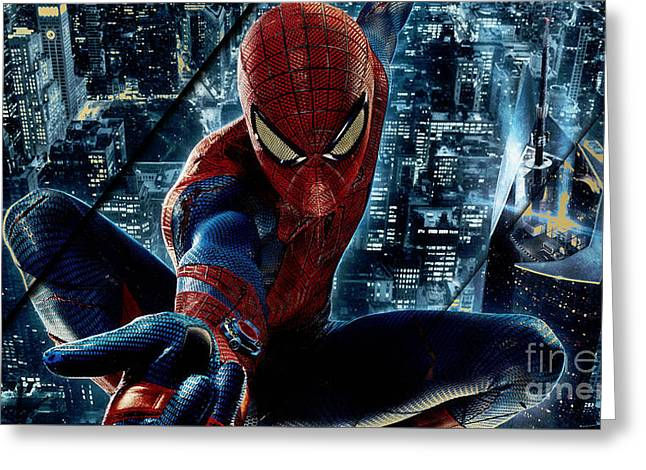Spiderman Collection Greeting Card
