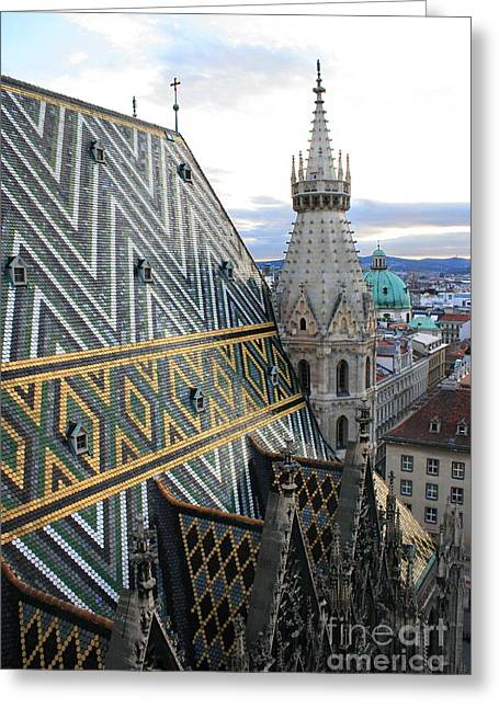 St Stephens Cathedral Vienna Greeting Card