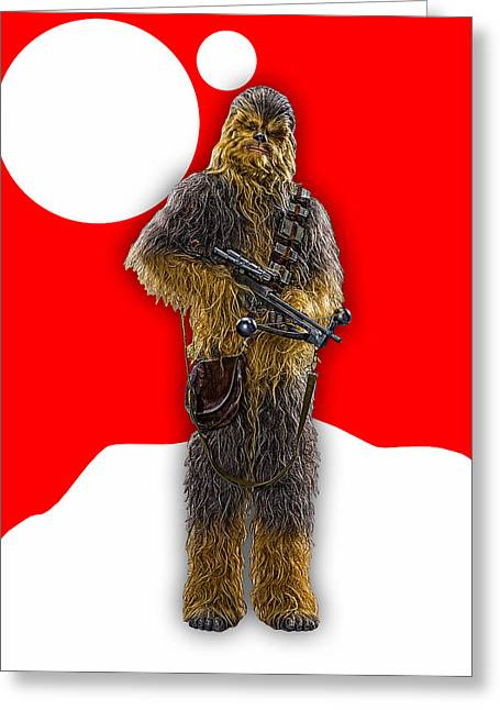 Star Wars Chewbacca Collection Greeting Card